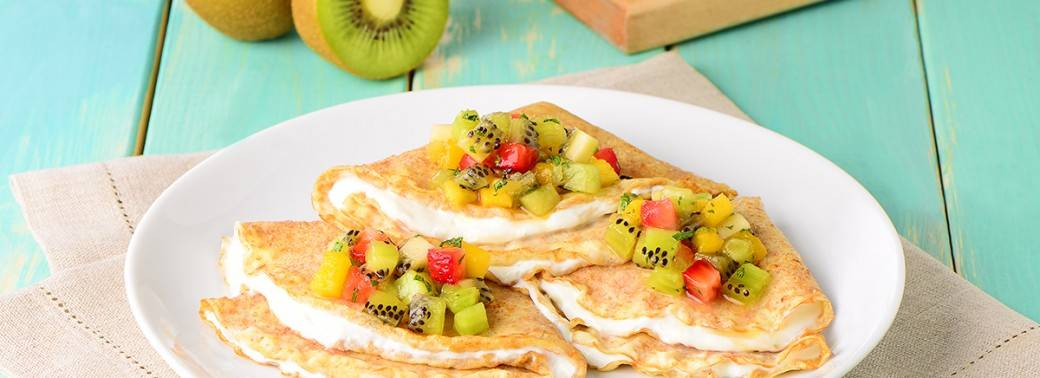 Mighties™ Kiwi Salsa Crepes